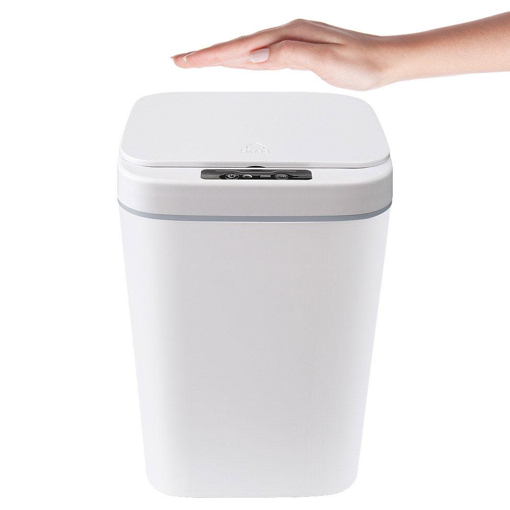 에코너-W1 자동 센서 쓰레기통
